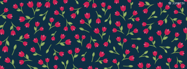 facebook cover tulips