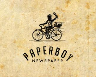 paperboy by Gane