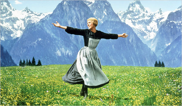 THE SOUND OF MUSIC CAST BEFORE AND AFTER (50TH ANNIVERSARY