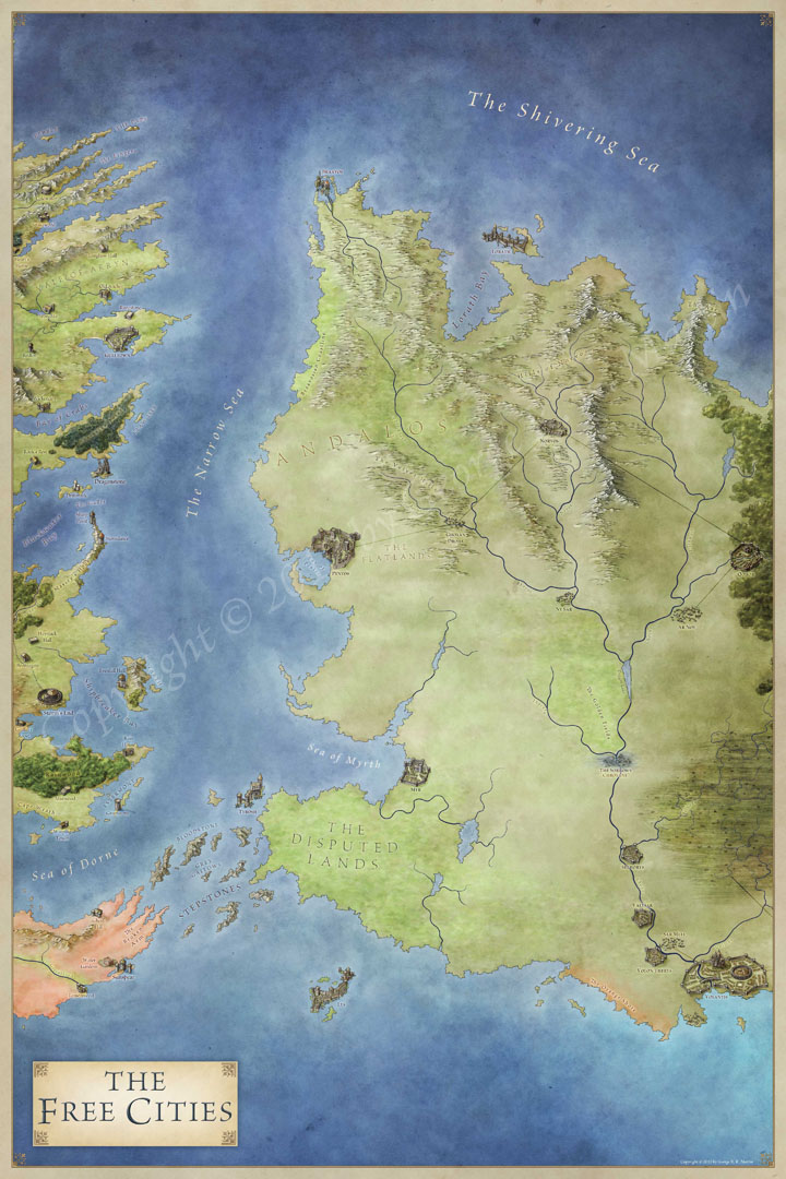Game Of Thrones Map German