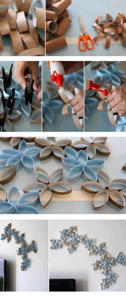 21-Extraordinary-Smart-DIY-Paper-Wall-Decor-That-Will-Color-Your-Life-homesthetics-design-8