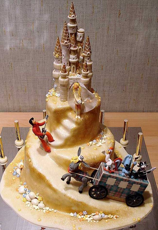 15 COOL IDEAS FOR WEDDING CAKES