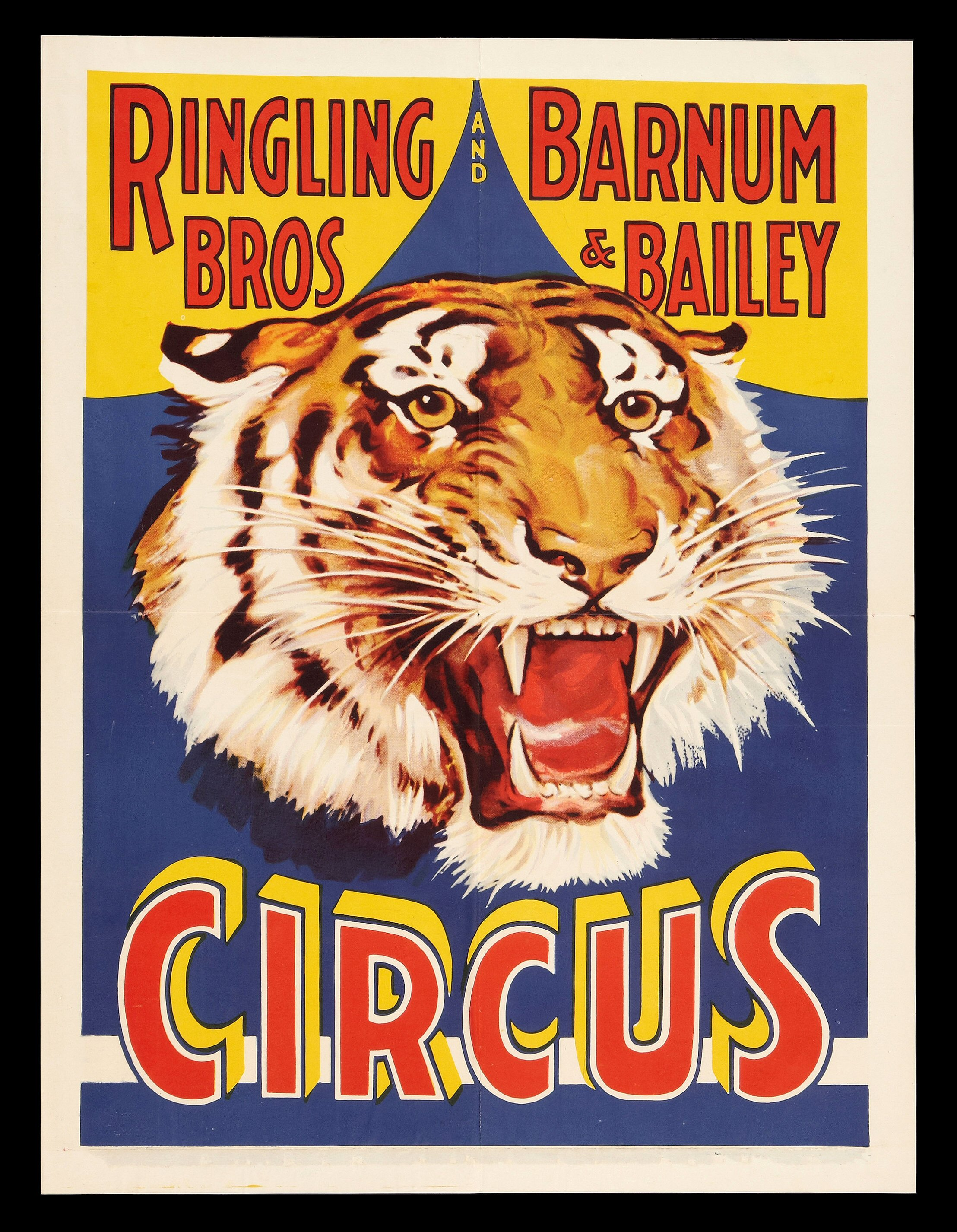 ringling bros and barnum bailey old circus posters. Black Bedroom Furniture Sets. Home Design Ideas