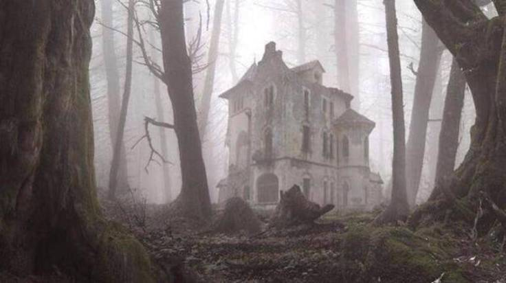 Abandoned-Places-From-Around-The-World-22-An-abandoned-house-in-the-forest.