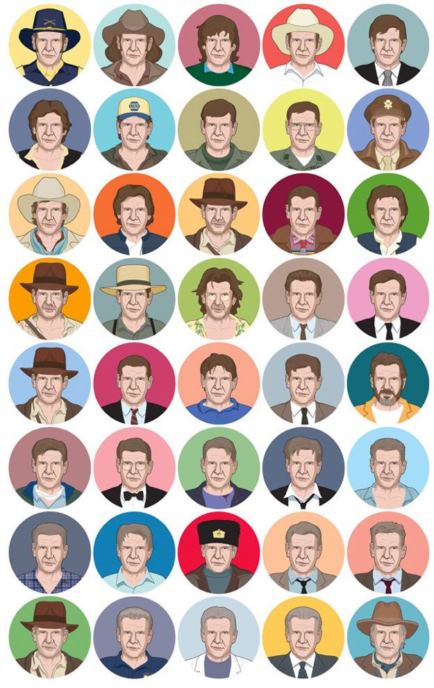 Forty-Fords-Harrison-Ford-Illustration