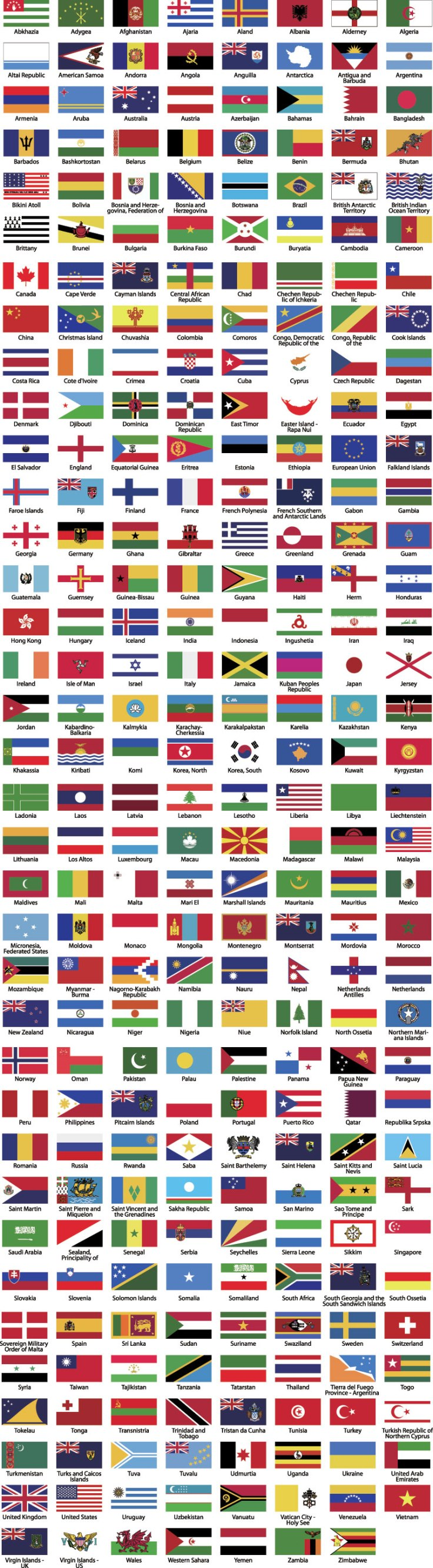 free-vector-world-flags