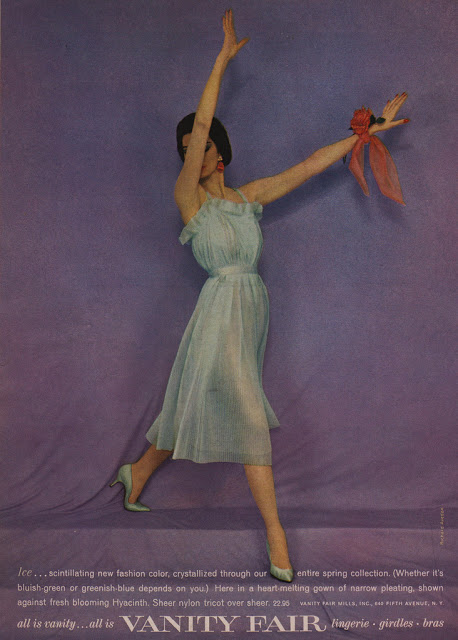 Vanity Fair Clothing Advertisements from the 1950s and 1960s (4)