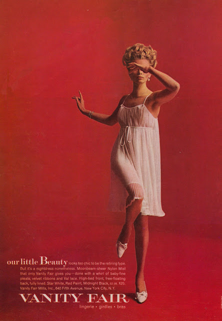 Vanity Fair Clothing Advertisements from the 1950s and 1960s (5)