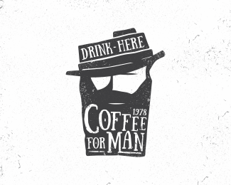 Coffee for man by Tickstyle