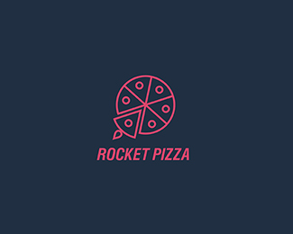 Rocket Pizza by pixel crook
