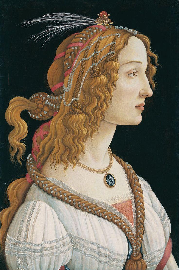 Sandro_Botticelli_-_Idealized_Portrait_of_a_Lady_(Portrait_of_Simonetta_Vespucci_as_Nymph)_-_Google_Art_Project