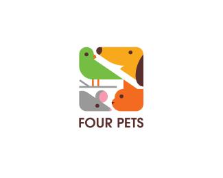 Four Pets by ru_ferret