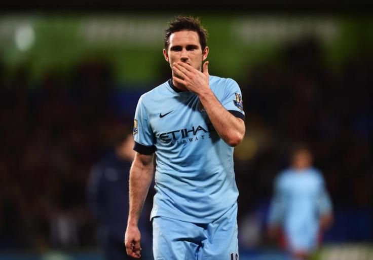 LONDON, ENGLAND - APRIL 06: Frank Lampard of Manchester City looks dejected during the Barclays Premier League match between Crystal Palace and Manchester City at Selhurst Park on April 6, 2015 in London, England.  (Photo by Jamie McDonald/Getty Images)