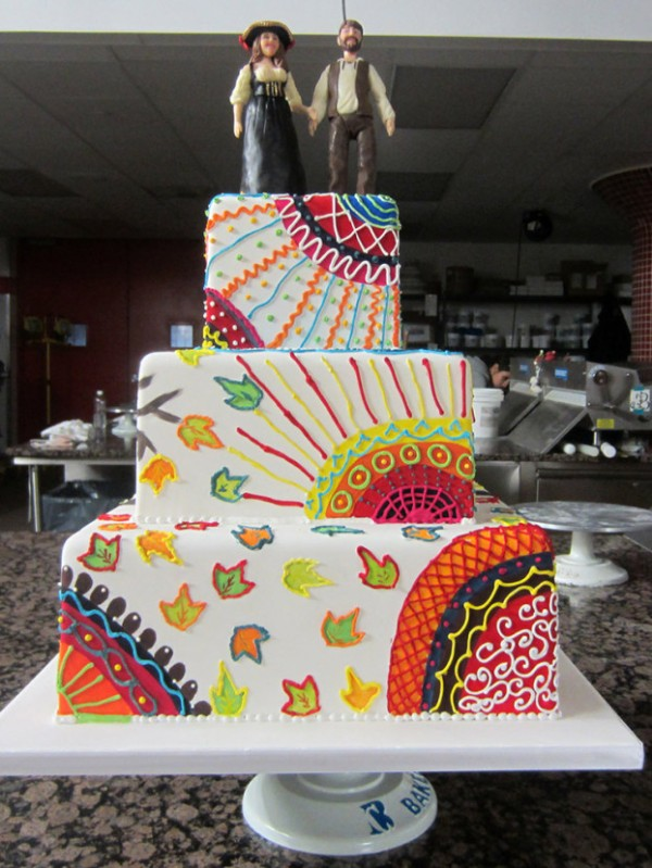 hippie-wedding-cake