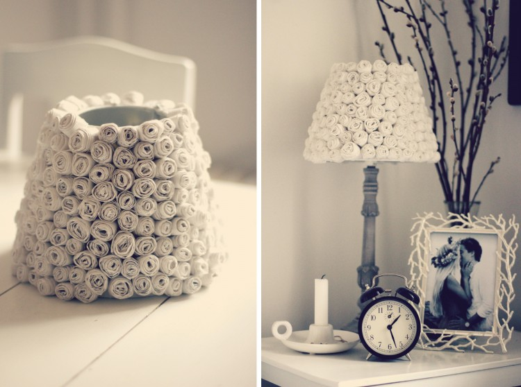Covering lamp shades design decoration 15 cool diy lampshades mozeypictures Image collections