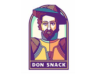 Don Snack Logo; Mascot by szende