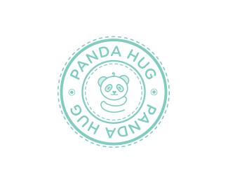 Panda Hug by arabellajune
