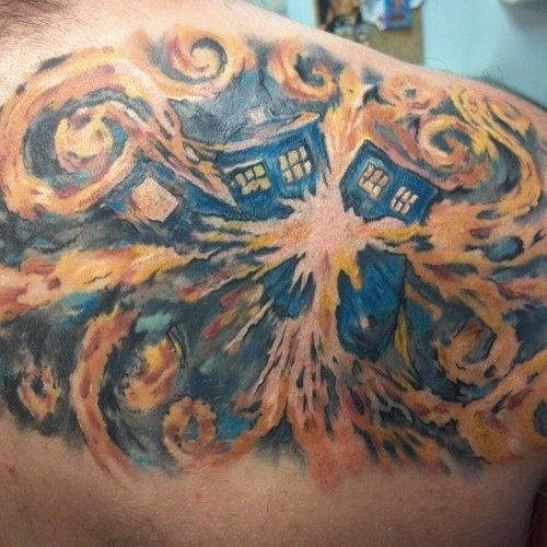 Doctor Who Tattoo By Atacoast Deviantart Com On: 10 COOL DOCTOR WHO TATTOOS