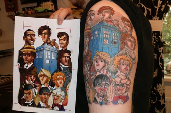 tattoos doctor who (8)