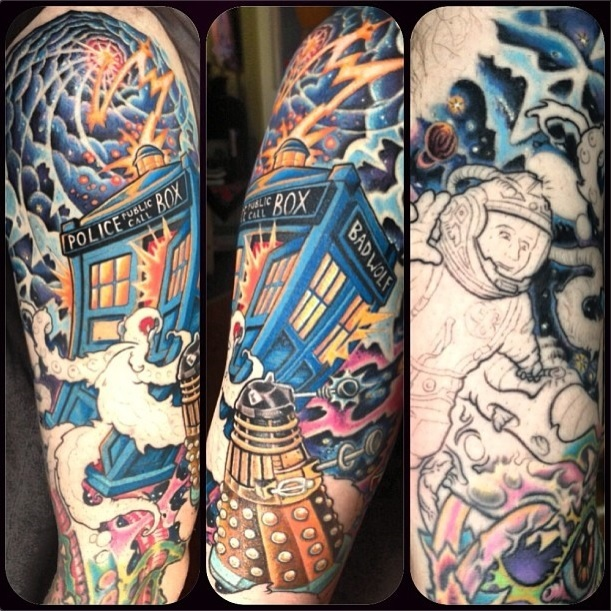tattoos doctor who