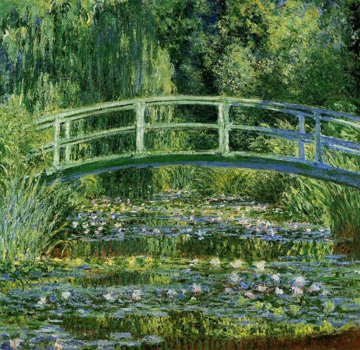 the-japanese-bridge-the-water-lily-pond-1899