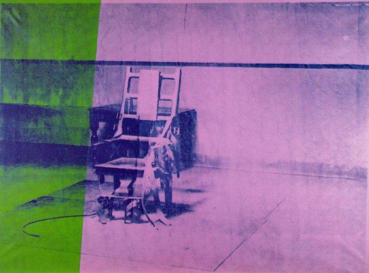 big-electric-chair-1967-andy-warhol