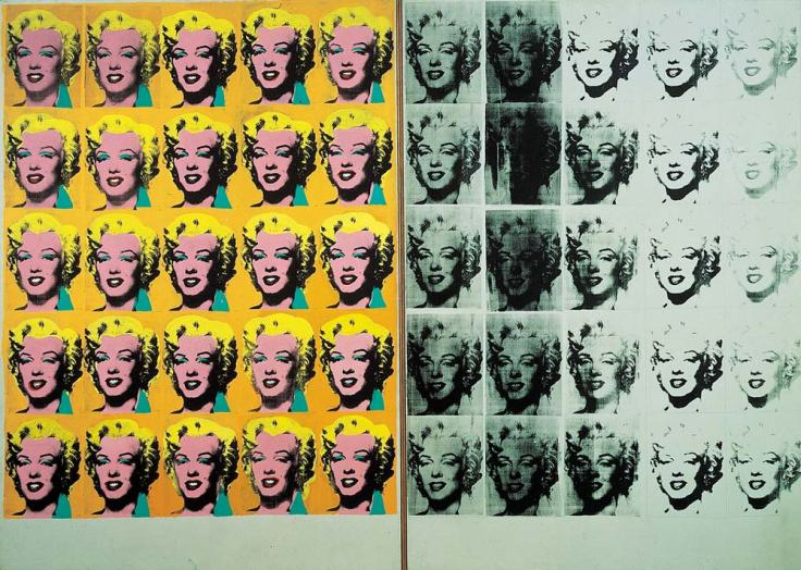 marilyn-diptych-by-andy-warhol