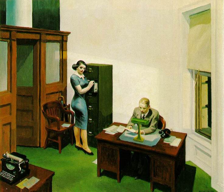 hopper.office-night
