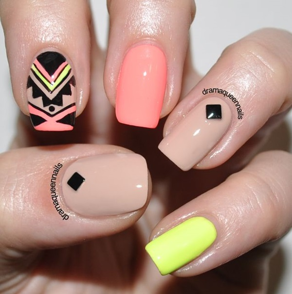 Easy-Nail-Art-Ideas-and-Designs-for-Beginners-23