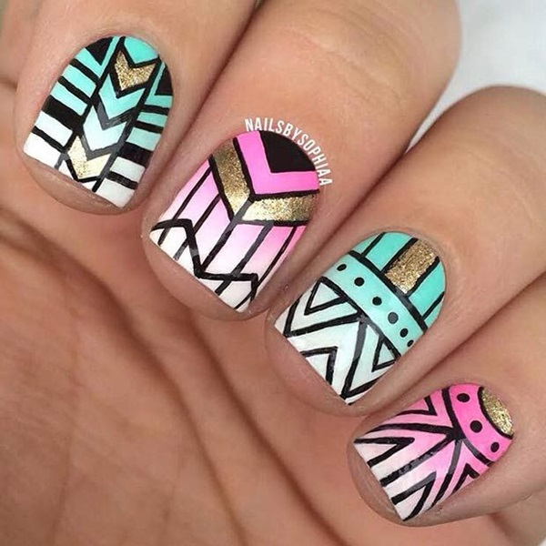 Easy-Nail-Art-Ideas-and-Designs-for-Beginners-71